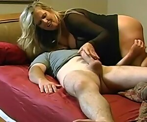 Mature MILF with Young Friend on Homemade